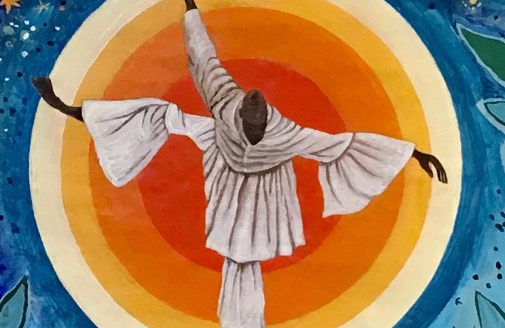 "The ""Obatala & the Tree Goddess"" Mural"